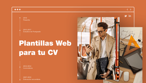 7 Plantillas web de CV ideales para cualquier profesión