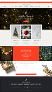 Template Wix para Loja Virtual de Natal