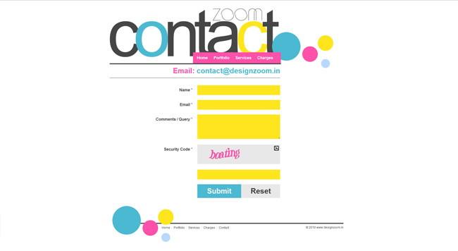 20 Páginas de Contato Criativas e Eficientes