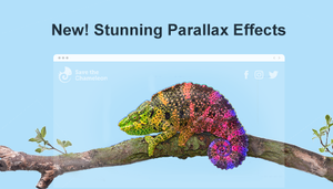 New Parallax Scrolling Effects Are Here to Beautify Your