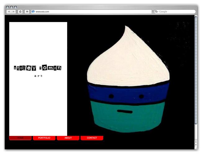 Wix Website Showcase: Stacey Rroman Art Cupcakes