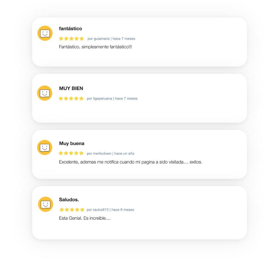 Agrega un espacio para comentarios a cada producto