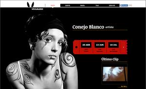 Plantilla: Conejo Blanco