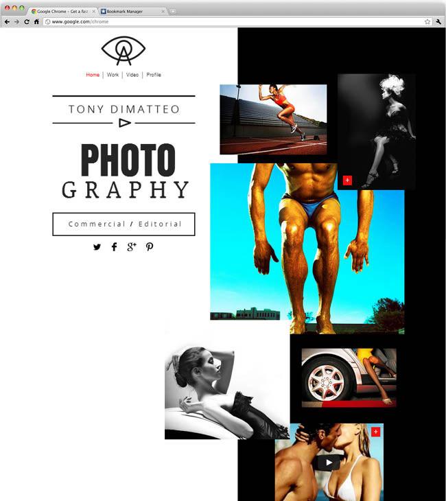 Site de Fotógrafo