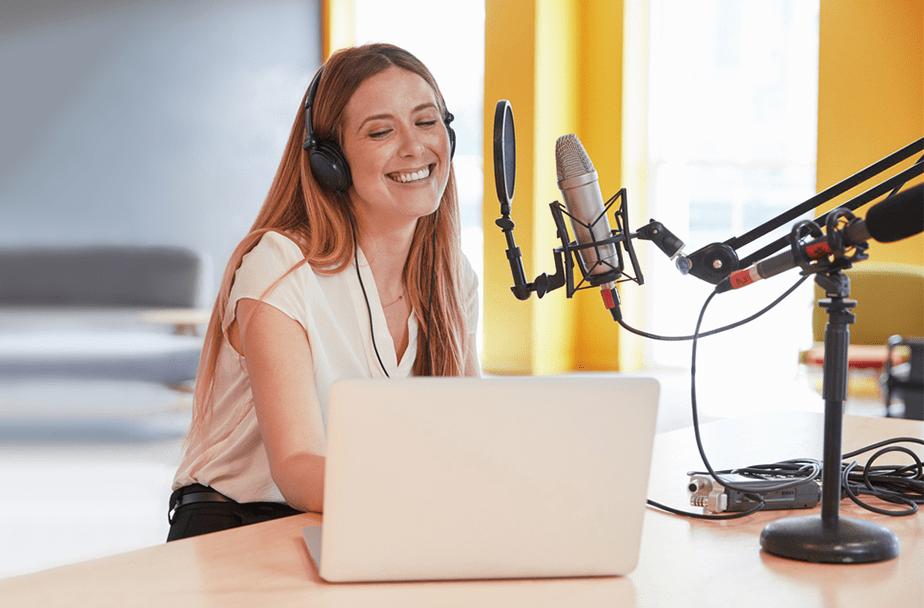 Prueba los podcasts