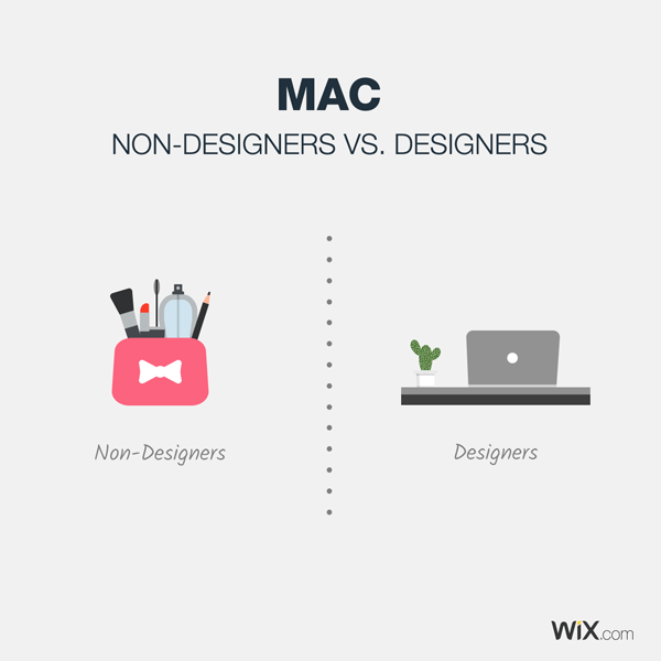 graphic design jokes about what a mac is