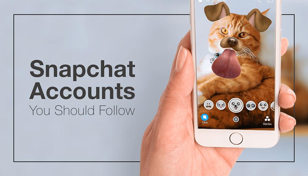 10 Snapchat Accounts You Should Follow TODAY