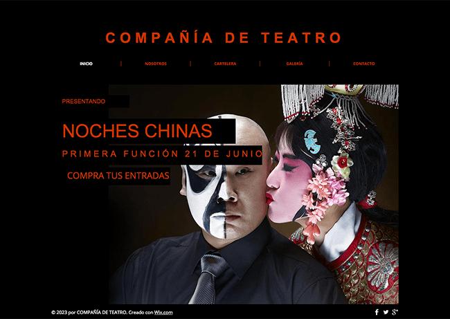 Plantilla:  Compañía de Teatro