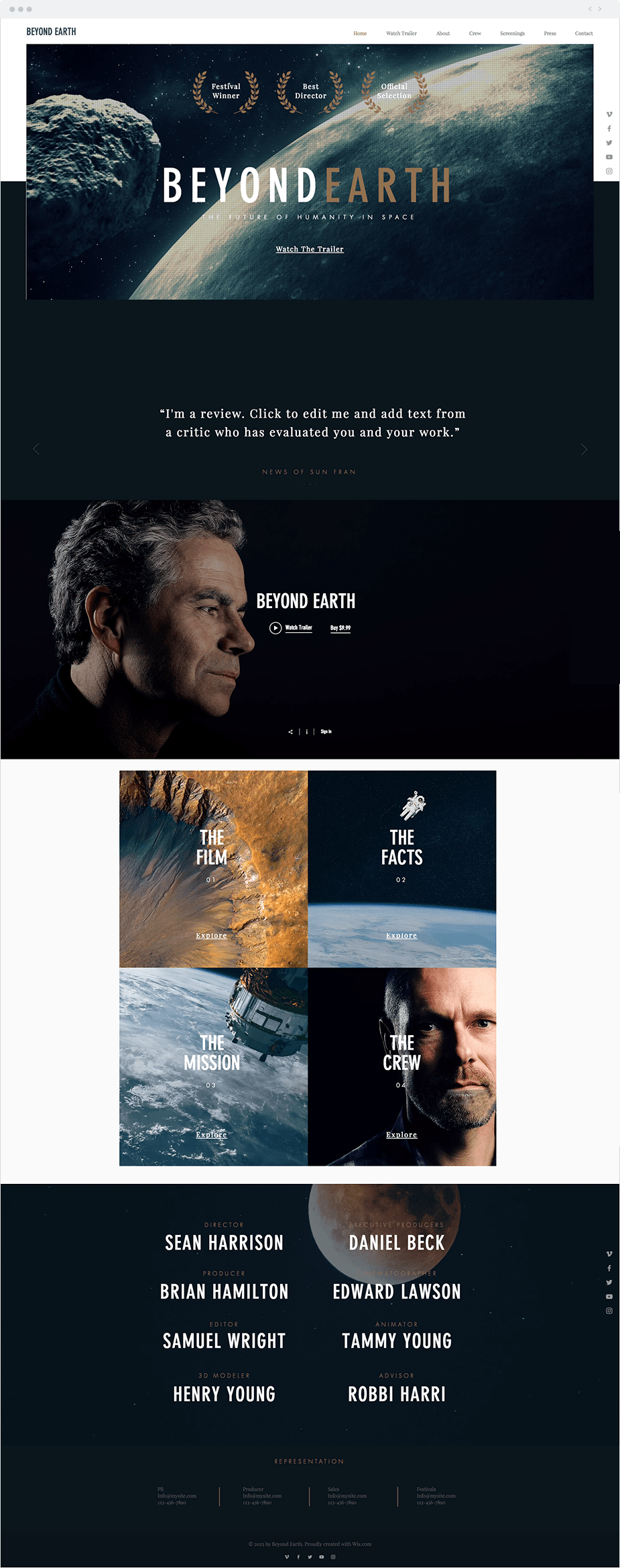 Science Documentary Template