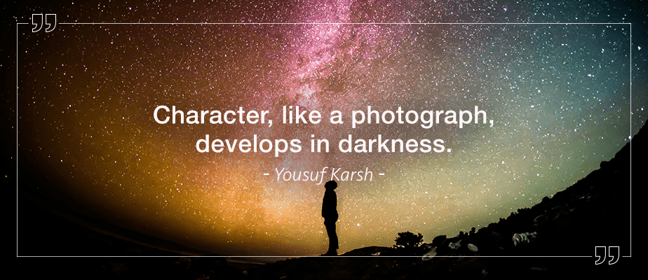 Yousuf Karsh quote