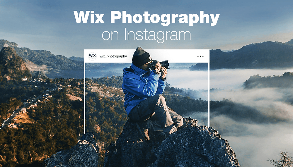 Wix Photography Is Taking Instagram by Storm