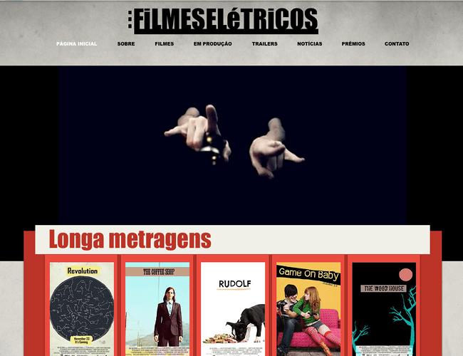 Template Wix - Filme Indie