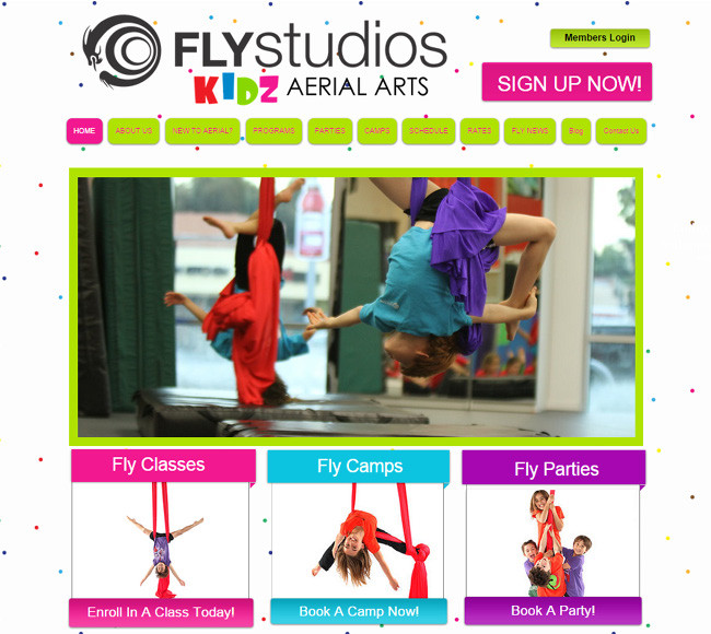 Fly studios - Kids Arial Arts