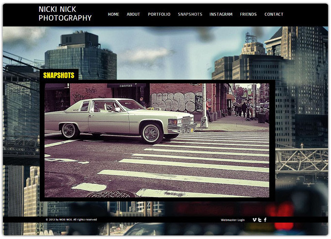 Beautiful Photography Websites Created with Wix