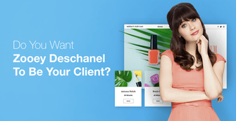 Big News! You Could Meet Zooey Deschanel Thanks to Wix