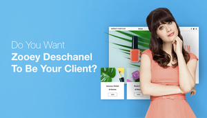 Want Zooey Deschanel To Be Your Next Client?