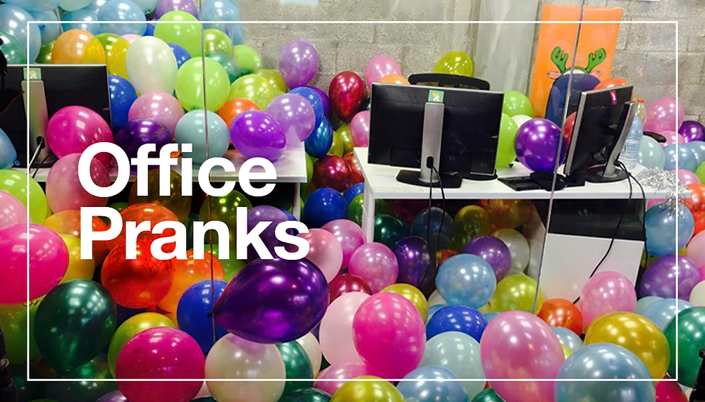 10 Hilarious Office Pranks You Have to Try
