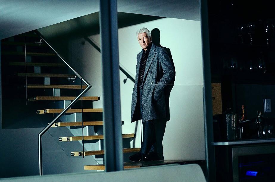 Beautiful Portrait of Richard Gere by Wix Photographer Diego Uchitel