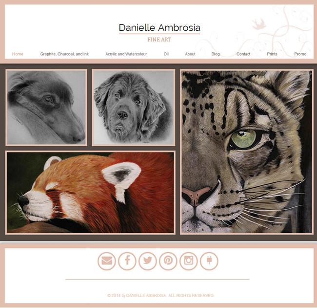 Danielle Ambrosia >>