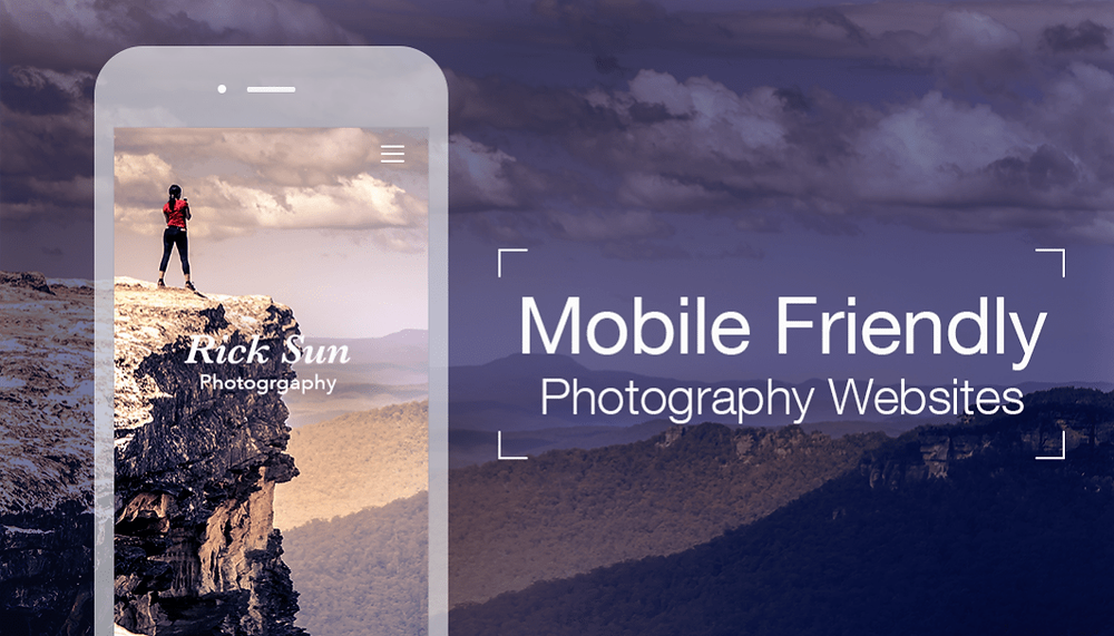 how to make your photography website mobile friendly