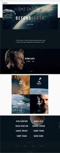 """Template Wix """"Documentário de Ciência"""""""