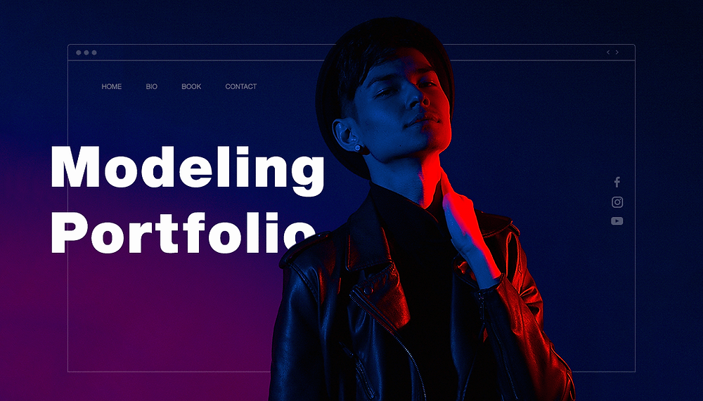10 Jaw Dropping Model Portfolio Examples For Your Inspiration