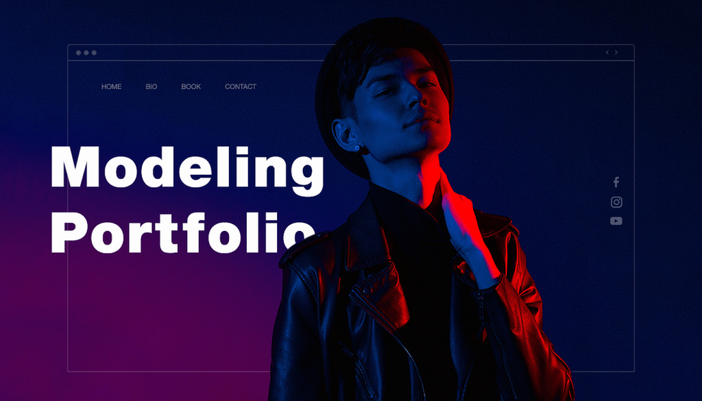 10 Jaw-Dropping Model Portfolio Examples for Your Inspiration