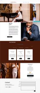 Site com Wix Bookings: Mahogany Beatz