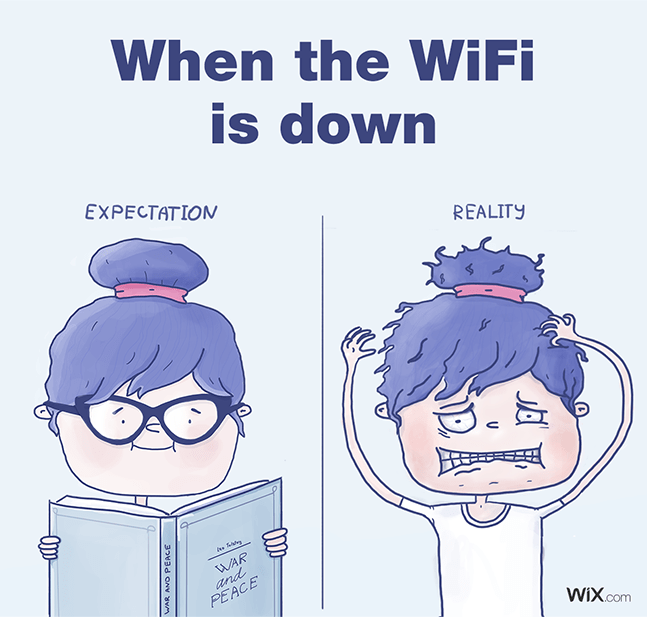 Wix social ideas: expectation vs reality