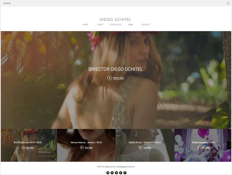 Diego Uchitiel website