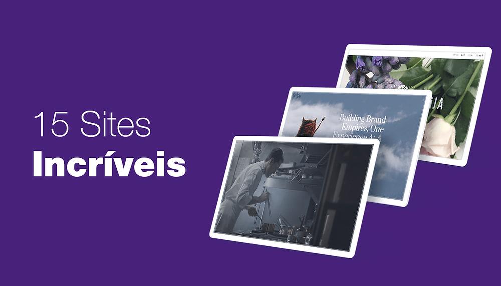 15 Sites que se Destacaram no Wix Stunning Awards Esse Ano