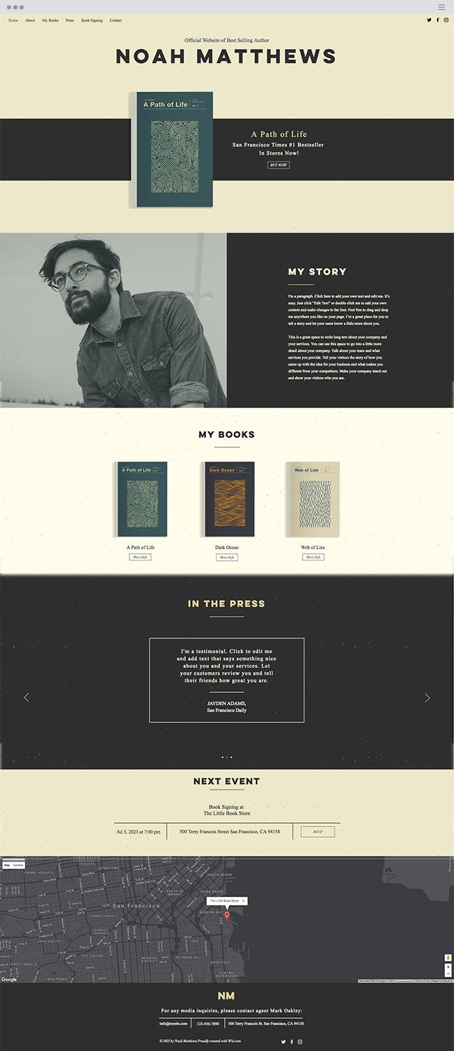 site de autor
