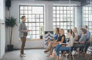 Organizar encuentros profesionales
