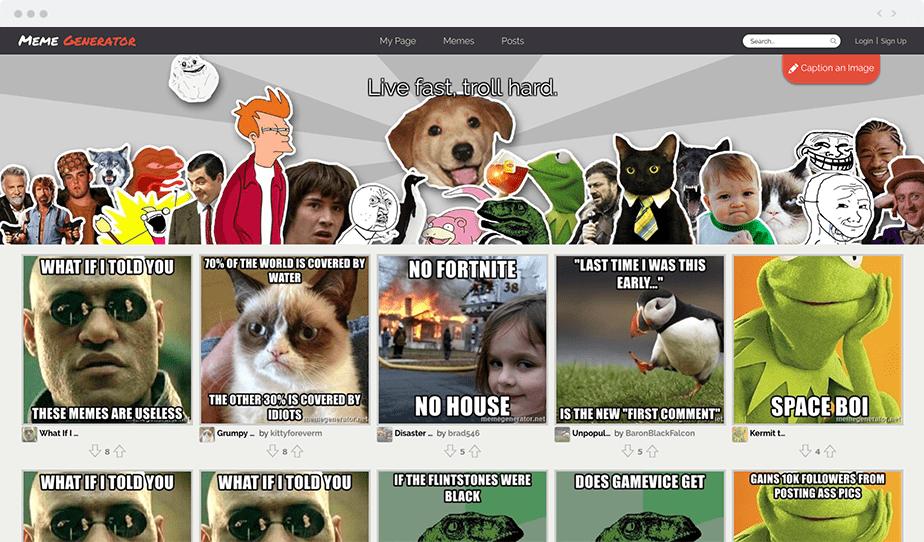 Wix blogging tools - Meme Generator