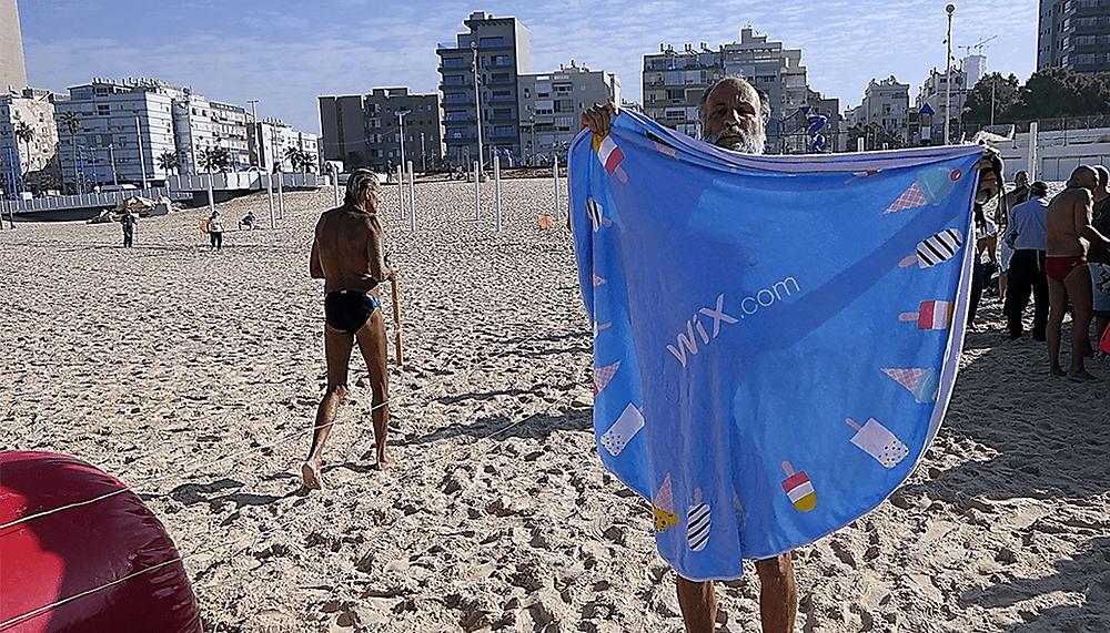 Wix Marketing Beach Campaign