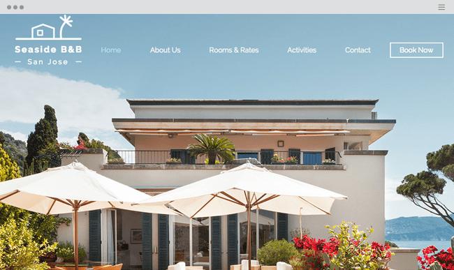 san jose Website Template