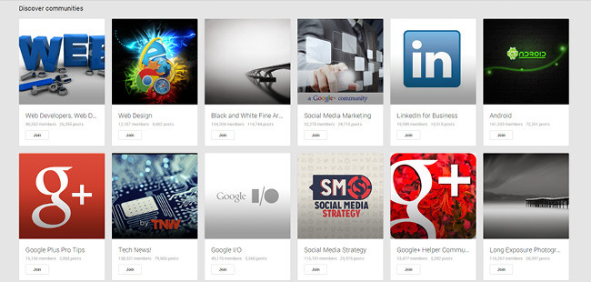 Stay Active on Google+ Communities