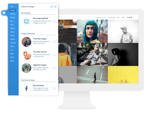 Free Images from Wix Website Builder