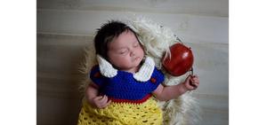 Fotografía-de-Bebés_La bella durmiente