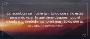 Joe Gebbia - Fundador de AirBnB
