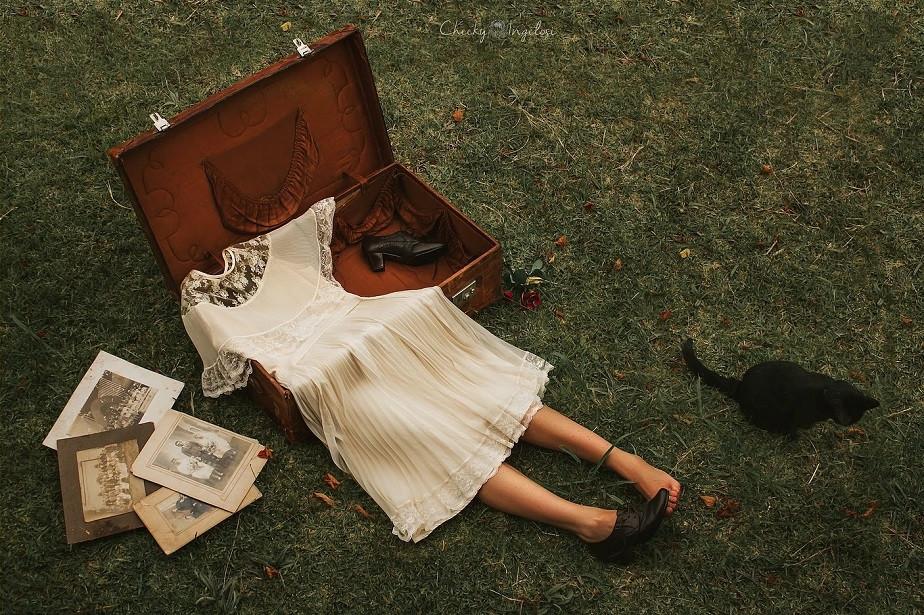 """""""Una chica llamada melancolía"""" de la fotógrafa Wix Cheeky-Ingelosi-3"""