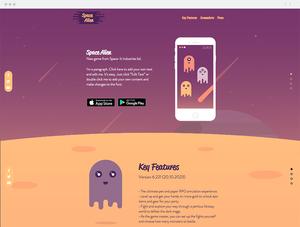 Game App Website