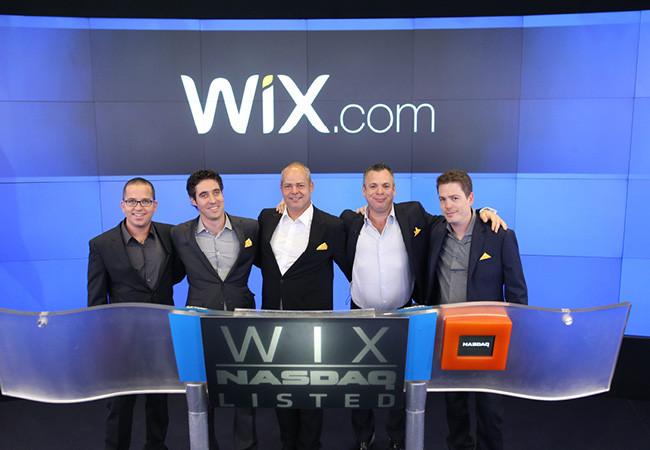 Wix.comがNasdaq株式取引市場に上場