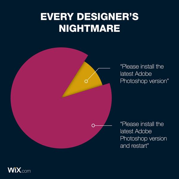 graphic design jokes about every designer's nightmare