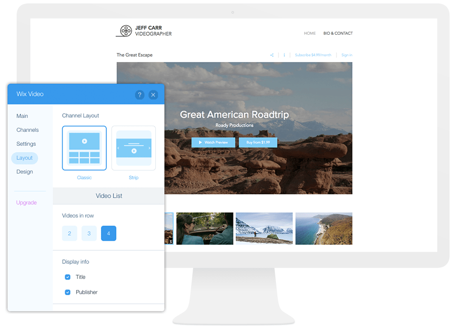 how to use Wix video guide