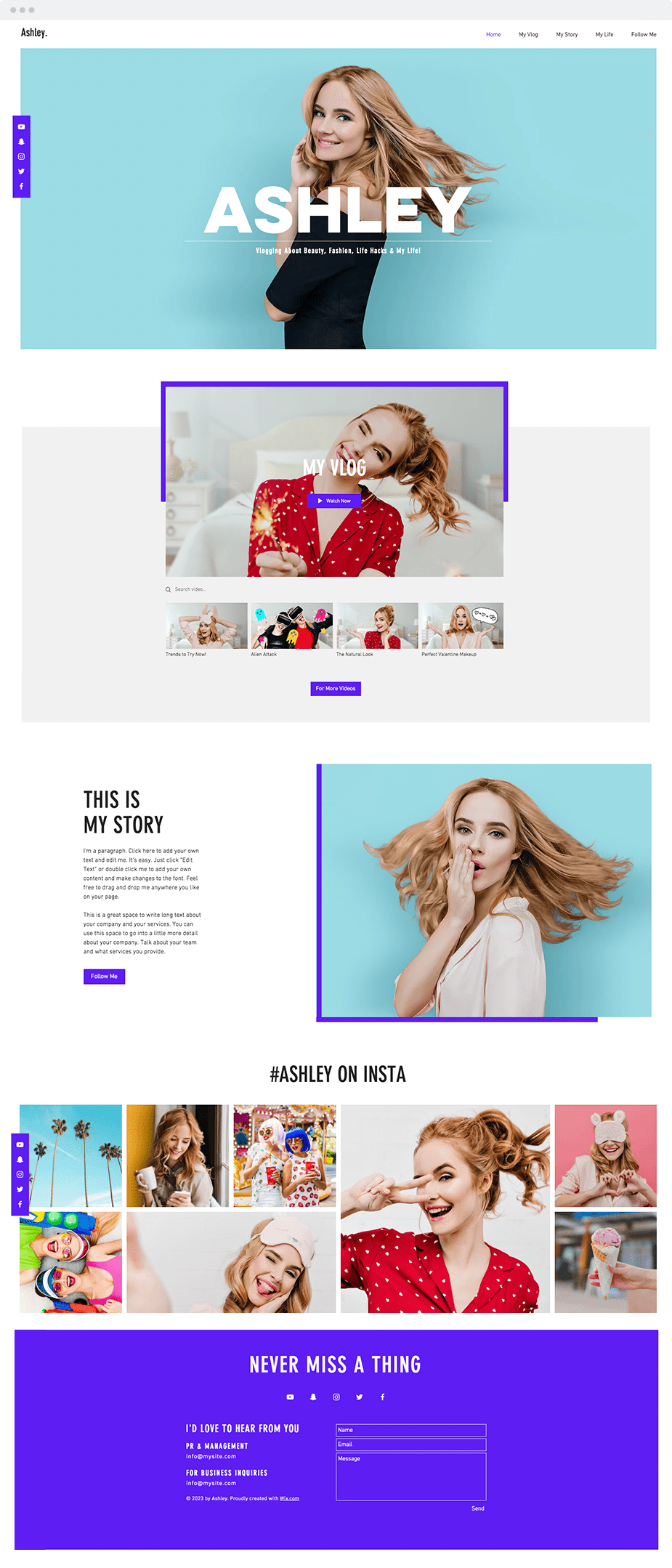Omat By Ridianur On Envato Elements Web Template