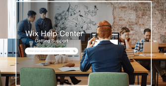 Wix Help Center: Ask Questions, Get Answers