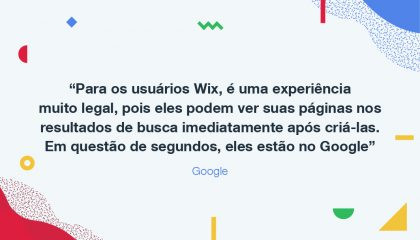 Agora É Oficial: Seu Site Wix no Google em Questão de Segundos!