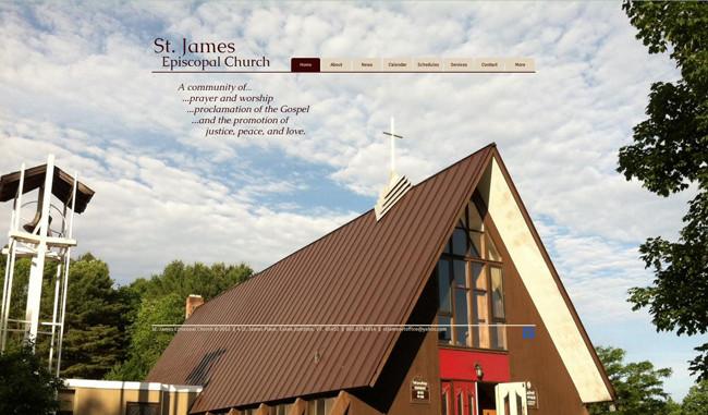 Sitio de la Iglesia Episcopal St. James Episcopal