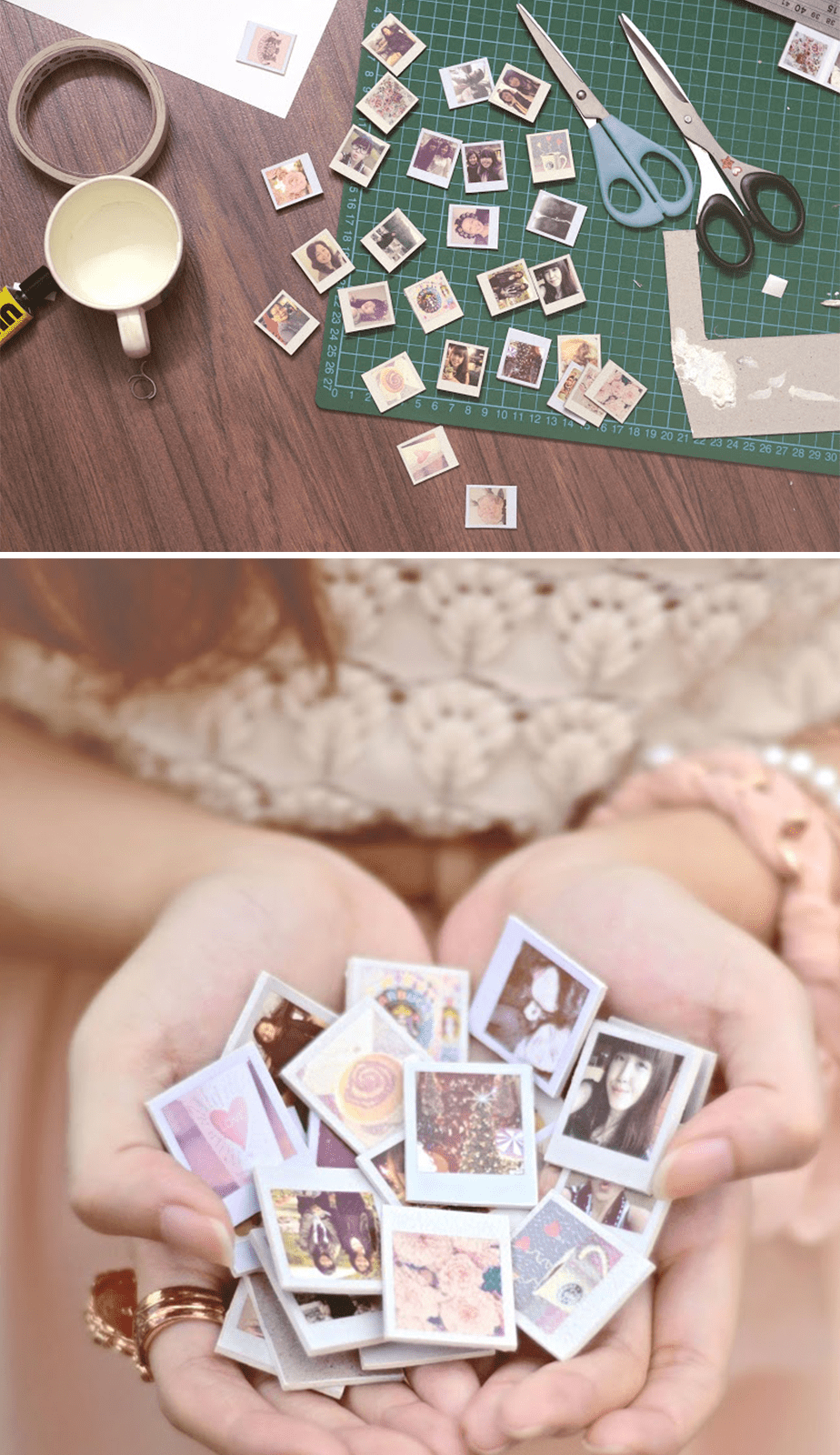 Wix Mother's Day Gift Idea: Pinterest Inspired Polaroid Photo Magnets